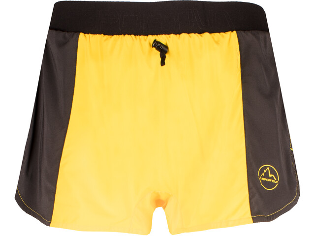 La Sportiva Auster Short Homme, yellow/black